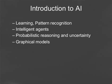 pattern recognition in ai ppt artificial intelligence and iot