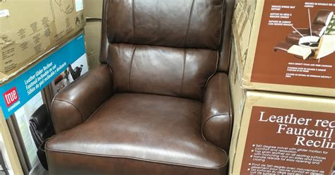 costco recliner chair synergy leather recliner chair costco weekender