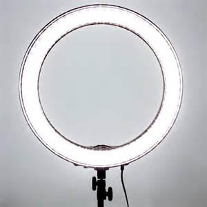 led smd 18 quot ring light dimmable 5500k 240pcs led lighting