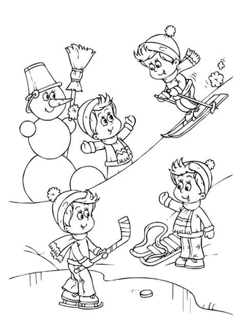 sports coloring sheets sports photograph coloring pages winter sports
