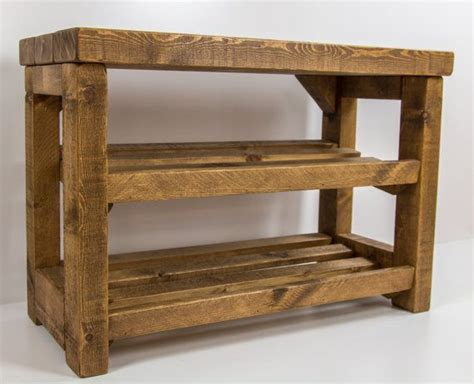 Wooden Shoe Rack With Seat by 10 Best Ideas About Wooden Shoe Racks On