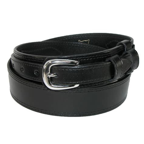 mens leather removable buckle ranger belt by ctm 174 casual
