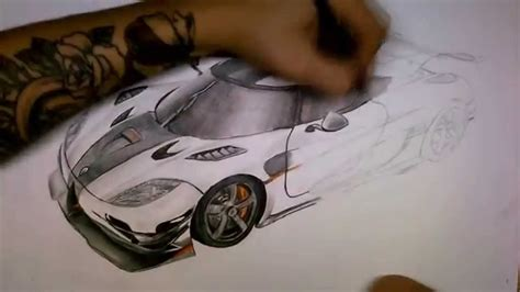 koenigsegg one drawing koenigsegg agera one 1 drawing by aleksdraw