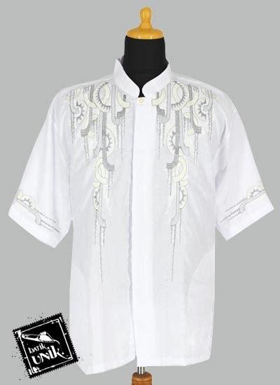 Baju Koko Panjang Aplikasi baju batik koko pendek dobi exclusive aplikasi bordir