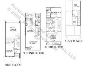 Row House Designs Small Lots - duplex townhouse plan d5153 a amp a flipped