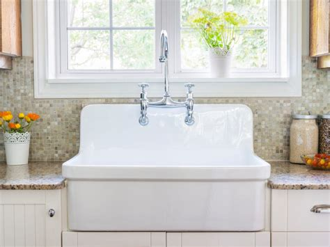 How To Clean Ceramic Sinks In Kitchen by How To Clean A Porcelain Sink