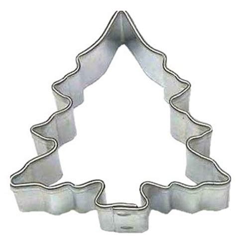 miniature christmas tree cookie cutter cookie cutter