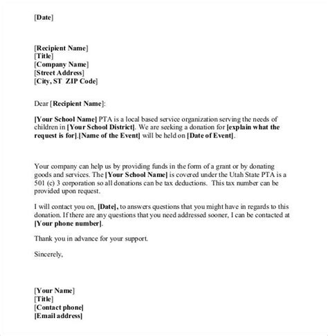 charity letter format donation letter template 26 free word pdf documents