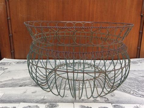 Wire Basket Planter by Large Wire Basket Planter