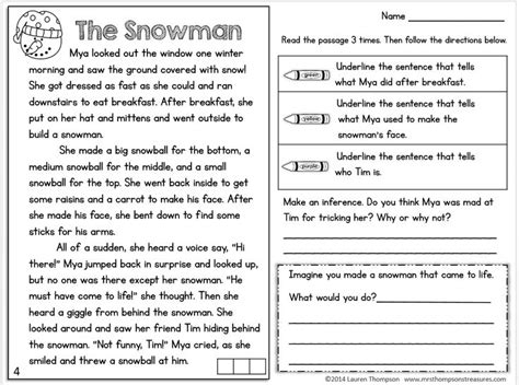 the best seat in second grade comprehension questions 251 best 3rd grade comprehension images on