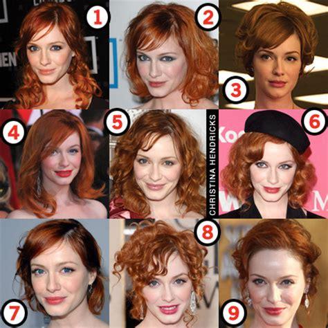 Christina Hendricks: Her Best Hair?   Makeup and Beauty Blog