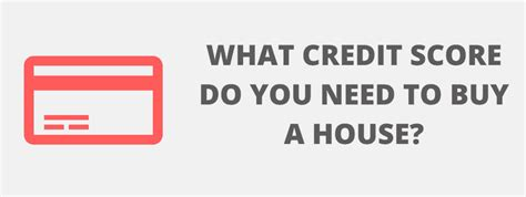 what credit score do i need to buy a home layson