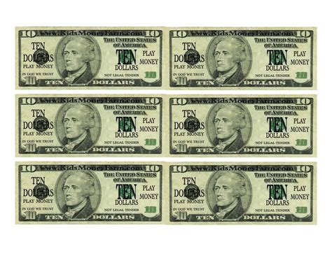 money template printable play money template dollar bill 2017 2018