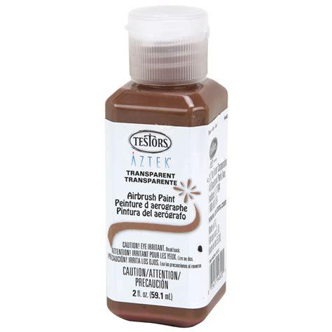 2oz testors aztek transparent mocha premium acrylic airbrush paint color ebay