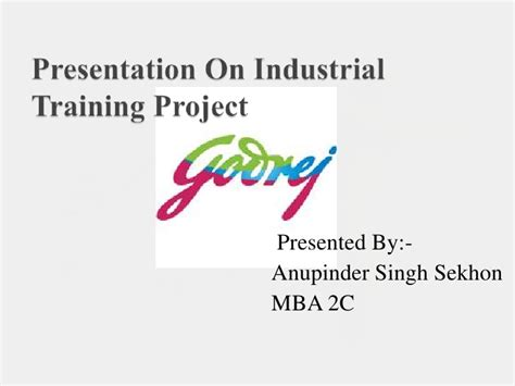 Samsung Mba Project by Competitive Analysis Of Godrej With Samsung