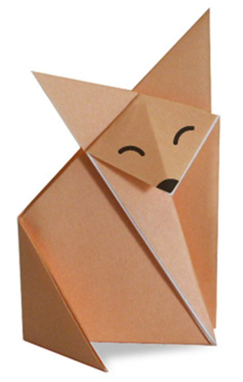 How To Make Paper Fox - origami fox