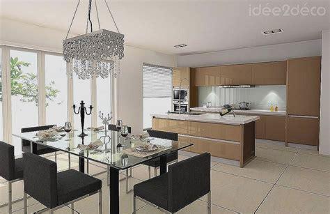 Salon Cuisine 20m2 by Idee Deco Salon Cuisine 20m2 Atwebster Fr Maison Et