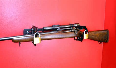 Locking Rifle Rack by Locking Rifle Rack Montie Gear