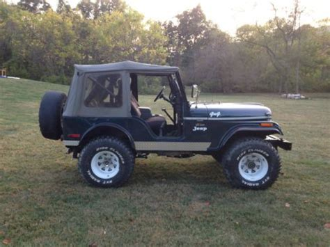1974 Jeep Cj5 For Sale Buy Used 1974 Jeep Cj5 4x4 In Hill