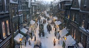winter scene in Quebec City wallpaper ForWallpaper.com