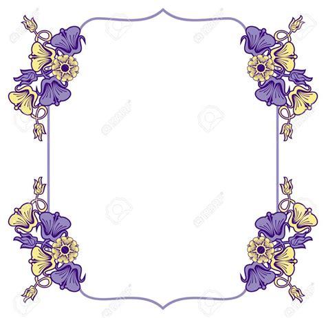 cornici decorate cornici floreali da colorare images con cornicette fiori