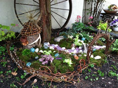 backyard fairy garden outdoor fairy garden go wild the garden diaries