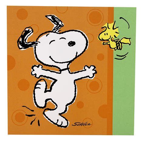 celebrating snoopy snoopy on snoopy snoopy and woodstock and