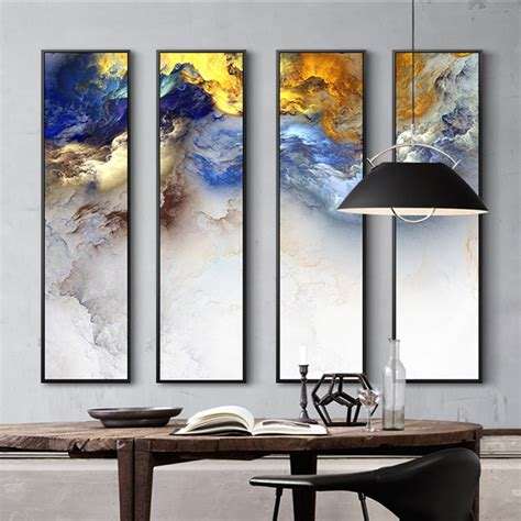 modern chinese painting  piece canvas painting abstract