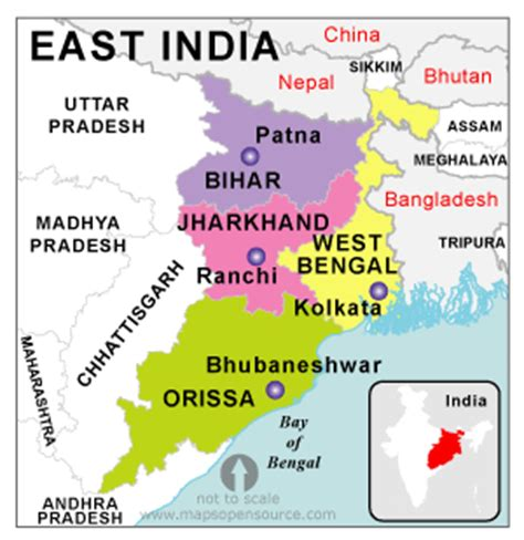 East India Map Outline by India Country Profile Free Maps Of India Open Source Maps Of India Facts About India