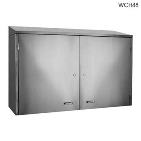 glastender wch42 42 quot wall cabinet w doors etundra