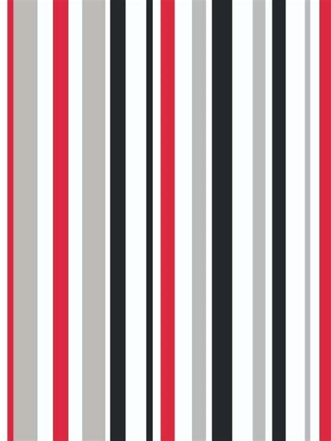 and white striped flag with one
