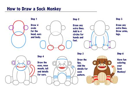 learn how to draw a sock monkey wkn webkinz newz