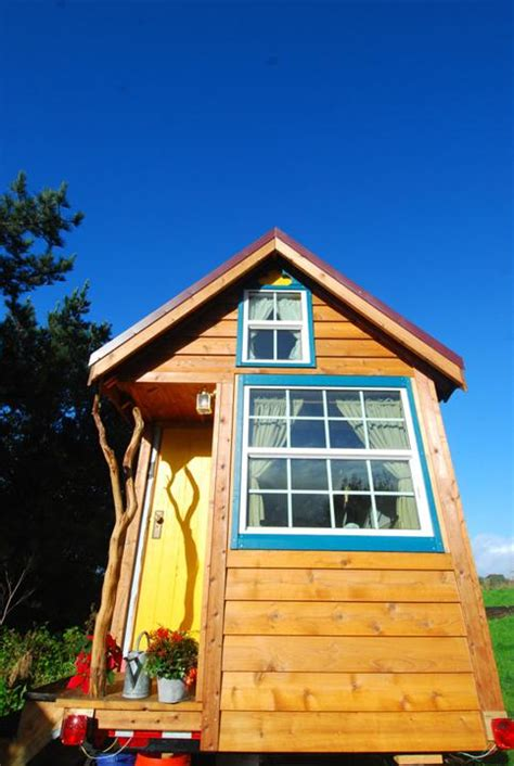 Ella S Tiny Yellow House Makes It On Yahoo Tiny House Pins Ella Jenkins Tiny House