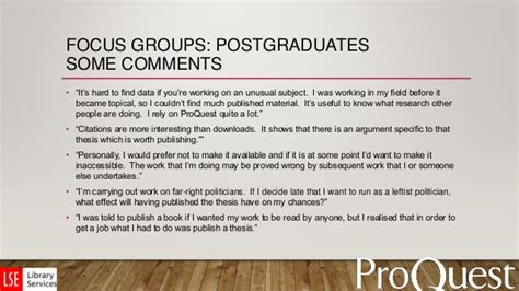 bullying thesis slideshare focus group thesis