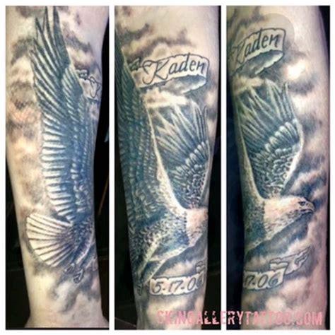 tattoo eagle black black and gray eagle tattoo by brent severson tattoonow