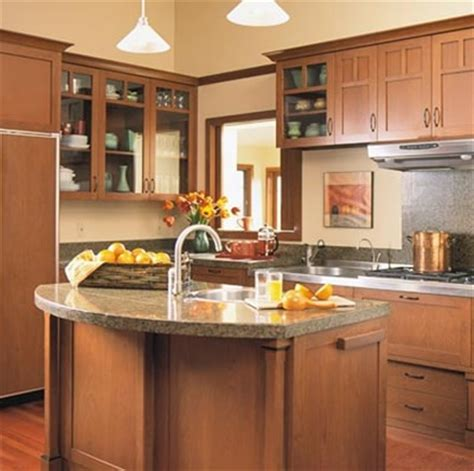 curved island kitchen designs curved island craftsman style kitchens