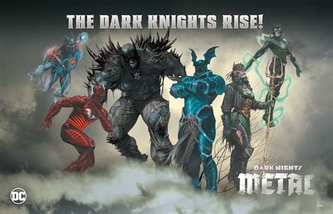 nights metal knights rising nights the nightmare batmen nights metal is the batman of your wildest