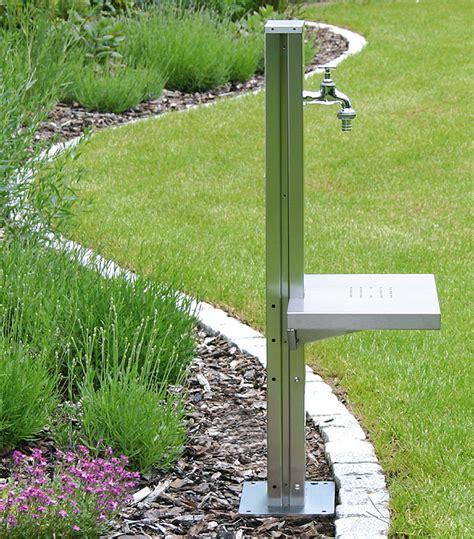Zapfstelle Garten Selber Bauen by Nauhuri Gartendeko Edelstahl Saule Neuesten Design Kollektionen F 252 R Die Familien