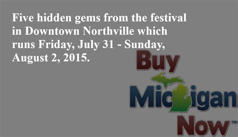 accuweather plymouth mi 10 gems at the buy michigan now festival in