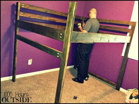 How To Make Your Own Bunk Bed Make Your Own Loft Bed Woodworking Projects Plans