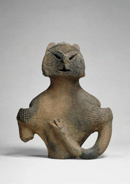 figure in japanese clay figures from prehistoric japan known as dogu the