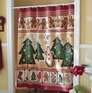 gingerbread curtains gingerbread shower curtain country primitive shower