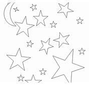 Estrela Para Colorir Risco De Pintar E