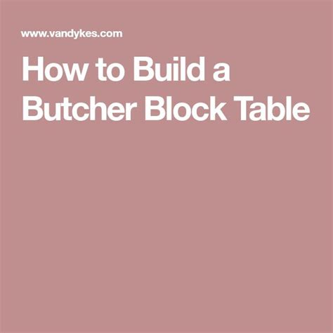 how to build a butcher block table best 25 butcher block tables ideas on block