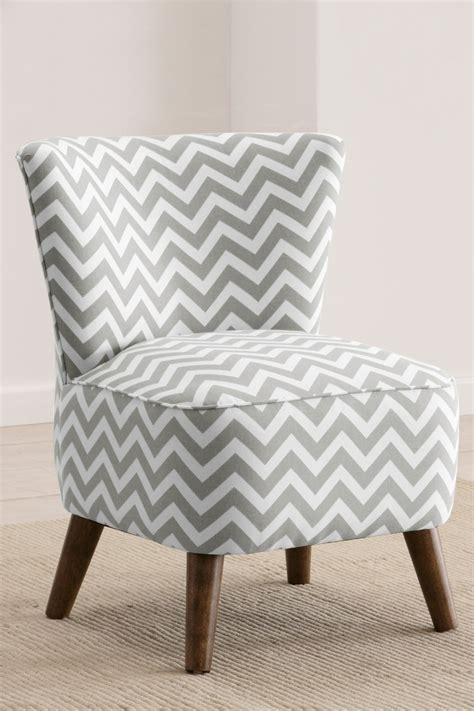 chevron chairs this chevron pattern for a bedroom chair by gold