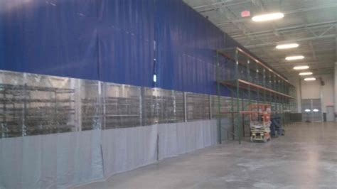 Industrial Warehouse Curtain Dividers & Commercial Vinyl