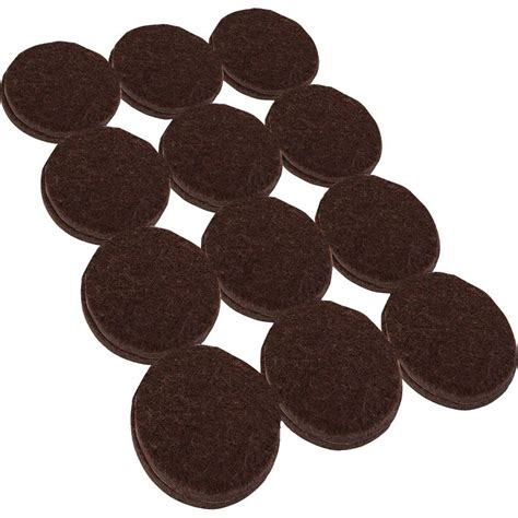 everbilt 1 1 2 in heavy duty brown self adhesive felt