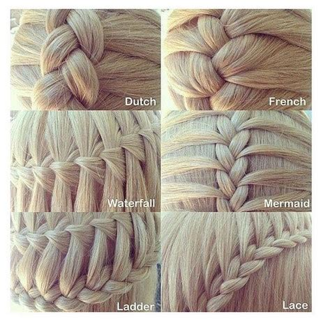 how many types of braiding styles are there ways of braiding hair