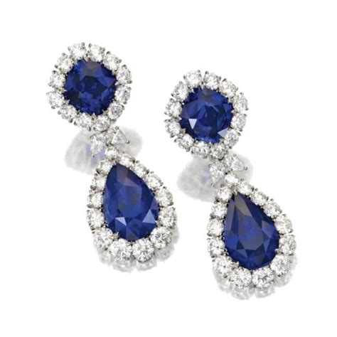 Blue Sapphire 13 80 Ct a selection of sapphire jewelry sold sotheby s