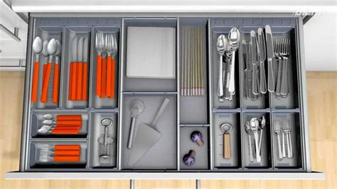 Blum Drawer Inserts by Large Orga Line Cutlery Inserts